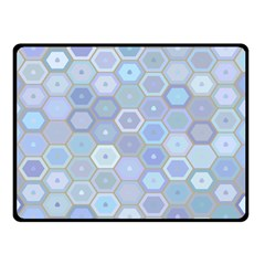 Bee Hive Background Double Sided Fleece Blanket (small)  by Amaryn4rt