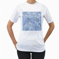 Bee Hive Background Women s T Shirt (white)