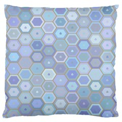 Bee Hive Background Standard Flano Cushion Case (one Side) by Amaryn4rt