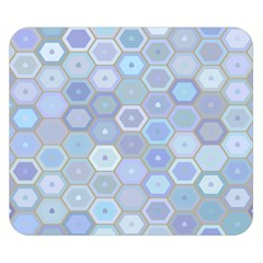Bee Hive Background Double Sided Flano Blanket (small)  by Amaryn4rt