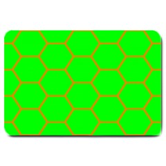 Bee Hive Texture Large Doormat  by Amaryn4rt