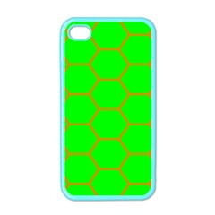 Bee Hive Texture Apple Iphone 4 Case (color) by Amaryn4rt