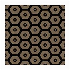 Black Bee Hive Texture Medium Glasses Cloth by Amaryn4rt