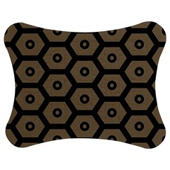 Black Bee Hive Texture Jigsaw Puzzle Photo Stand (bow) by Amaryn4rt