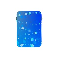 Blue Hot Pattern Blue Star Background Apple Ipad Mini Protective Soft Cases by Amaryn4rt