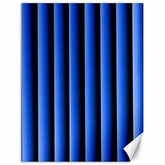 Blue Lines Background Canvas 18  X 24