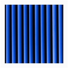 Blue Lines Background Medium Glasses Cloth by Amaryn4rt