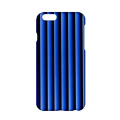 Blue Lines Background Apple Iphone 6/6s Hardshell Case by Amaryn4rt