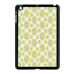 Another Supporting Tulip Flower Floral Yellow Gray Apple Ipad Mini Case (black) by Jojostore