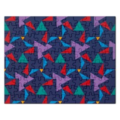 Areas Of Colour Square Relative Neutrality Rectangular Jigsaw Puzzl by Jojostore