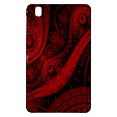 Batik Chevron Wave Free Red Samsung Galaxy Tab Pro 8 4 Hardshell Case by Jojostore
