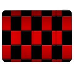Board Red Black Samsung Galaxy Tab 7  P1000 Flip Case by Jojostore