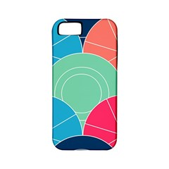 Diagonal Color Way Apple Iphone 5 Classic Hardshell Case (pc+silicone) by Jojostore