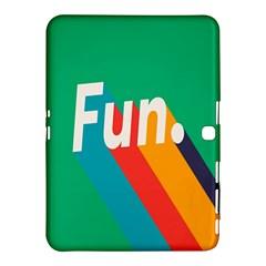 Fun Samsung Galaxy Tab 4 (10 1 ) Hardshell Case  by Jojostore