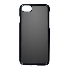 Gray Color Apple iPhone 7 Seamless Case (Black) by Jojostore