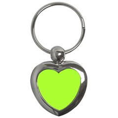 Green Color Key Chains (heart)  by Jojostore