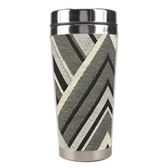 Geometric Home Decor Fabric Stainless Steel Travel Tumblers by Jojostore