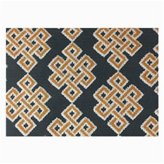 Geometric Cut Velvet Drapery Upholstery Fabric Large Glasses Cloth by Jojostore