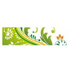 Leaf Flower Green Floral Satin Scarf (oblong) by Jojostore