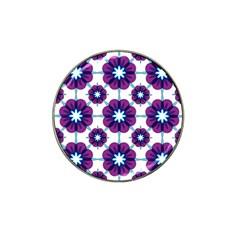 Link Scheme Analogous Purple Flower Hat Clip Ball Marker (10 Pack) by Jojostore