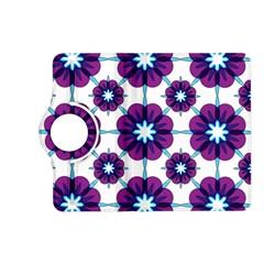 Link Scheme Analogous Purple Flower Kindle Fire Hd (2013) Flip 360 Case by Jojostore