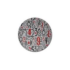 Number Golf Ball Marker by Jojostore