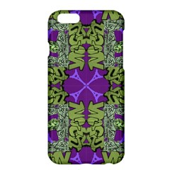 Paris Eiffel Tower Green Purple Apple Iphone 6 Plus/6s Plus Hardshell Case by Jojostore