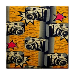 Photo Camera Tile Coasters