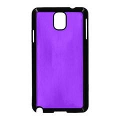 Purple Color Samsung Galaxy Note 3 Neo Hardshell Case (Black) by Jojostore