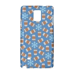 Snow Pillow Samsung Galaxy Note 4 Hardshell Case by Jojostore