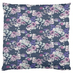 Simple Flower Standard Flano Cushion Case (Two Sides) by Jojostore