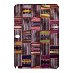 Strip Woven Cloth Color Samsung Galaxy Tab Pro 12 2 Hardshell Case by Jojostore