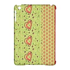 Organic Geometric Design Love Flower Apple Ipad Mini Hardshell Case (compatible With Smart Cover) by Jojostore