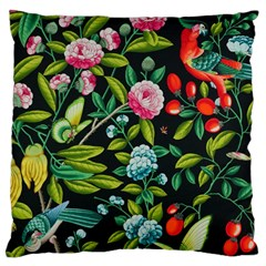 Tropical And Tropical Leaves Bird Standard Flano Cushion Case (one Side) by Jojostore