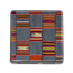 Strip Woven Cloth Memory Card Reader (square) by Jojostore