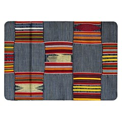 Strip Woven Cloth Samsung Galaxy Tab 8 9  P7300 Flip Case by Jojostore