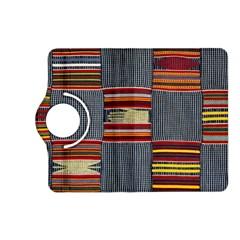 Strip Woven Cloth Kindle Fire Hd (2013) Flip 360 Case by Jojostore