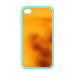Blurred Glass Effect Apple Iphone 4 Case (color) by Amaryn4rt