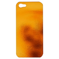 Blurred Glass Effect Apple Iphone 5 Hardshell Case by Amaryn4rt