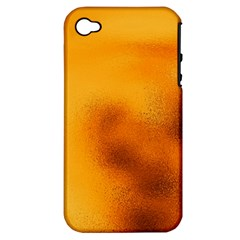 Blurred Glass Effect Apple Iphone 4/4s Hardshell Case (pc+silicone) by Amaryn4rt