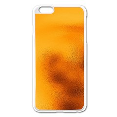 Blurred Glass Effect Apple Iphone 6 Plus/6s Plus Enamel White Case by Amaryn4rt