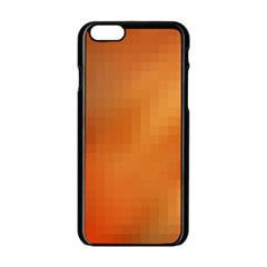 Bright Tech Background Apple Iphone 6/6s Black Enamel Case