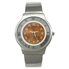 Circuit Board Stainless Steel Watch by Amaryn4rt