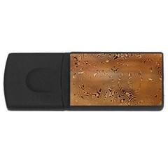Circuit Board Usb Flash Drive Rectangular (4 Gb) by Amaryn4rt