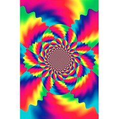 Colorful Psychedelic Art Background 5 5  X 8 5  Notebooks by Amaryn4rt