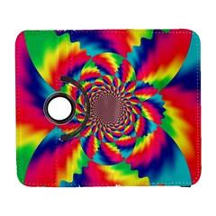 Colorful Psychedelic Art Background Galaxy S3 (flip/folio) by Amaryn4rt