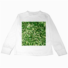 Crop Rotation Kansas Kids Long Sleeve T-Shirts by Amaryn4rt