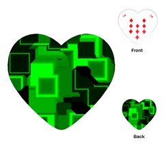 Cyber Glow Playing Cards (heart)