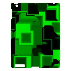 Cyber Glow Apple Ipad 3/4 Hardshell Case