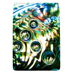 Dark Abstract Bubbles Flap Covers (l)